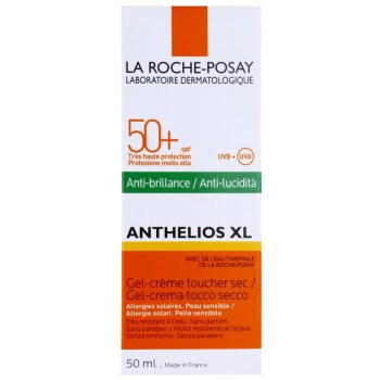 la roche posay spf 50 gel crema toque seco 50 ml anthelios